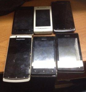Sony смартфоны на запчасти
