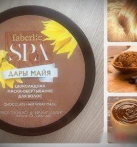 Шоколадное обертывание для волос и маска для лица