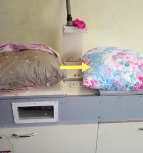 Чистка подушек,одеял,перин
