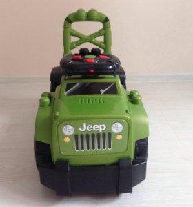 Машина-каталка Jeep Mega Bloks