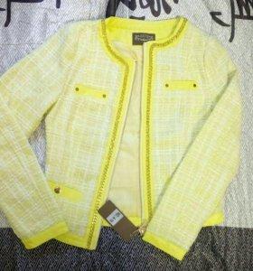Новая стильная куртка 42-44 р-р