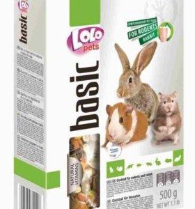 LoloPets(ЛолоПетс) корм д/грызунов и кроликов,500г