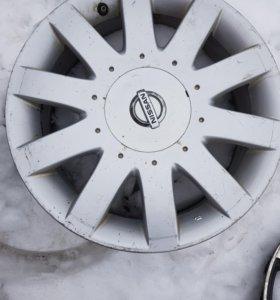 Литье R17 Nissan комплект