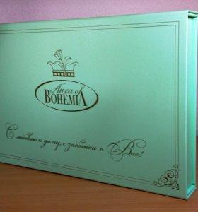 Новый в подарочной упаковке набор для чаепития