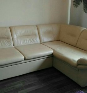 """Кожаный диван """"Ангажемент"""""""