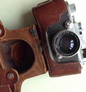 Пленочный фотоаппарат Зоркий 3 с паспортом.