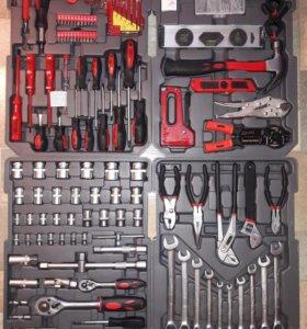 KrafTWelle набор профессионального инструмента 186
