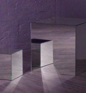 Куб зеркальный