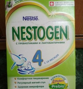 Смесь молочная Нестожен 4 (с 18 мес.), 700 гр.