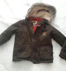 Детская куртка с жилеткой