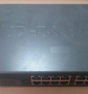 Коммутатор D-Link DES-1016D (16 портов)