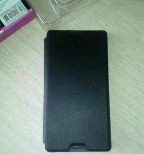 Чехол книжка на SONY XPERIA Z3 compact чёрный
