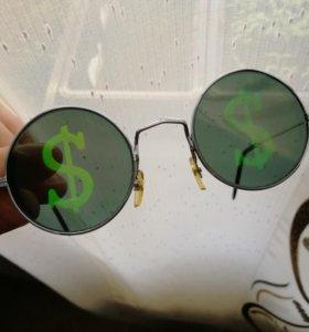 Очки с долларами)))) $$$