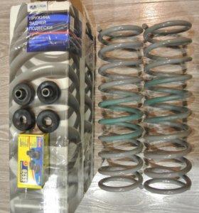 Комплект задних пружин ваз 2110-2112