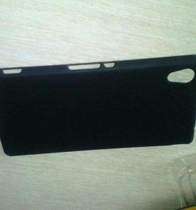 Задний бампер на Sony Xperia M4
