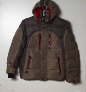 Зимняя куртка пуховик 54