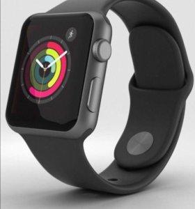 Часы Apple Watch series 3, 42 мм Space gray