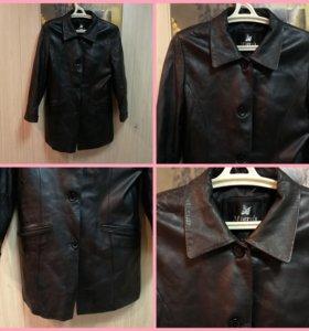 Пиджак натуральная кожа Mierdi, XL 48