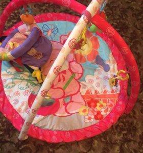 Детский коврик с прыгунками