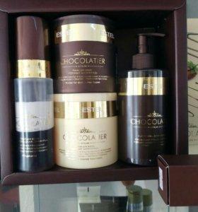 Шоколадное обертывание для волос