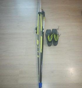 Лыжи беговые classik комплект