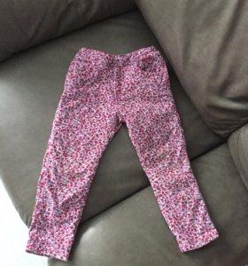Вельветовые брюки mothercare на весну