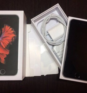 iPhone 6s space gray оригинал новый