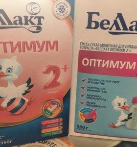 Сухая молочная смесь Беллакт 2. 6-12 месяцев