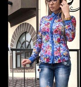 Новая блуза с топом