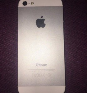 iPhone 5 белый 16GB