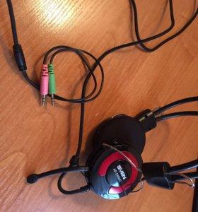 Наушники для компьютера с микрофоном