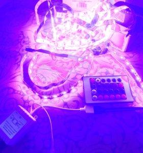 RGB LED контройлер 12в 6а