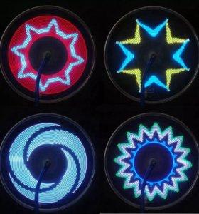 Подсветка для вело колёс
