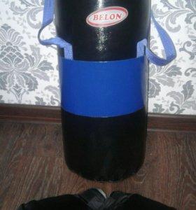 Детская боксерская груша+перчатки
