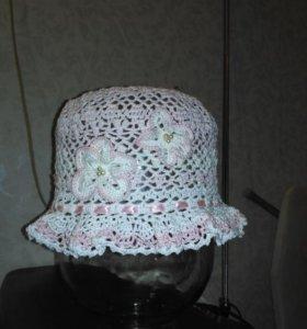 Детские шапочки-панамки