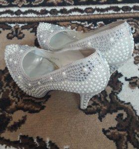 Туфли свадебрые