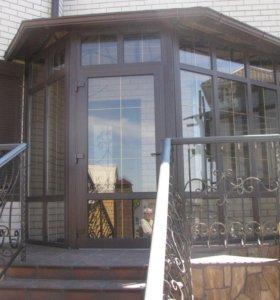 Пластиковые окна,балконы,веранды,двери,откосы.