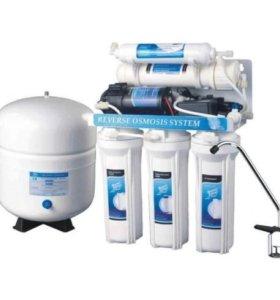 Фильтры для воды .замена картриджей.