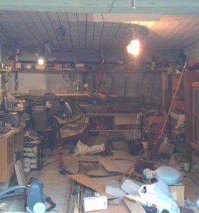 Уборка и ремонт вашего гаража