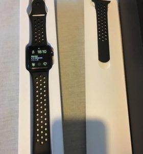 Часы Аpple Watch Nike + Series 3