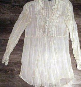 Блузка белая ZARA