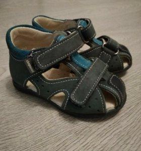 сандали из натур. кожы