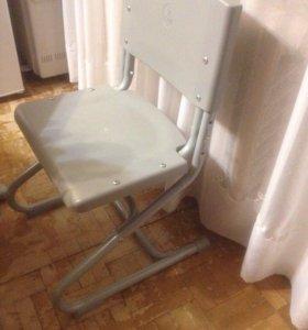 Растущая парта и стул для школьника ф. Дэми