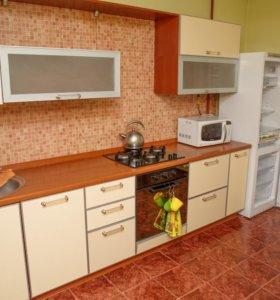 Кухонный гарнитур, встраиваемая варочная панель