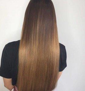Наращивание волос,коррекция