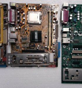 Материнские платы с процессорами на LGA 775