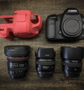 Canon EOS 5D Mark 3+объективы