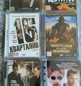 DVD диски 6 штук в прекрасном состоянии