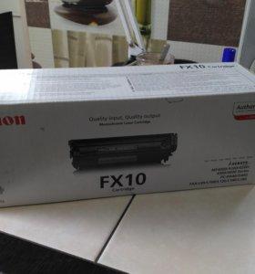 Лазерный картридж для МФУ Canon FX 10 Новый