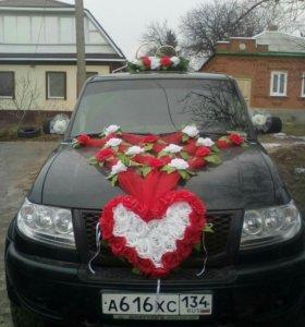 Продаю свадебное украшение на машину